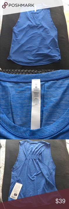 Lululemon in a clinch tank New with tags lululemon athletica Tops