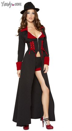 gorgeous gangster costume sexy gangster costume gangster halloween costume sexy mafia costume - Female Gangster Halloween Costumes