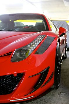 Ferrari 458 Spider Mansory Siracusa Monaco. The carbon fiber details are awesome.