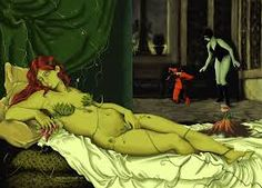 Image result for olympia manet parody