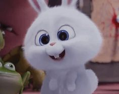 The perfect SnowBall Rabbit Bunny Animated GIF for your conversation. Discover and Share the best GIFs on Tenor. Cute Bunny Cartoon, Kawaii Bunny, Cute Cartoon Pictures, Cute Love Cartoons, Foto Cartoon, Cartoon Gifs, Cute Cartoon Wallpapers, Snowball Rabbit, Tekken Girls