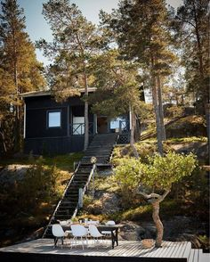 An Idyllic Finnish Summer Cabin on the Water's Edge Cottage Kitchen Renovation, Summer Cabins, Everything Is Illuminated, Swedish Cottage, Timber Cabin, Home Grown Vegetables, Summer Paradise, Cabin Kitchens, Cottage In The Woods