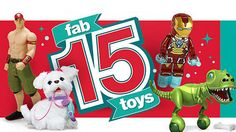 Kmart Fab 15 Toy List  + *NEW* FREE Holiday Shipping!