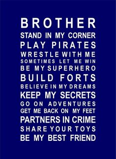 For the boys room by Janny Dangerous I LOVE this. Pretty much sums up my boys:-) and other boy room ideas Love My Boys, My Love, 3 Boys, Twin Boys, Baby Boys, Just In Case, Just For You, Brother Quotes, Son Quotes
