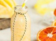 Pineapple, banana and orange smoothie Orange Smoothie, Lactose Free, Paleo Recipes, Cantaloupe, Yogurt, Pineapple, Frozen, Banana, Canning