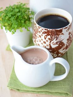 Natural Irish Coffee Creamer>>>>>>>>>>>>I love Irish creamer but its not very healthy and its pricey. So i might have to try this cheaper, healthier recipe!