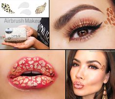 Maryam Maquillage: Dinair-brushed in Leopard!