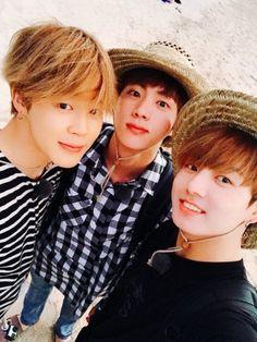 JungKook, Jin e Jimin <3 <3 <3