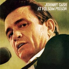 Reposting : Johnny Cash plays two shows for inmates at Folsom Prison in California. Unlike his previous prison concerts, they are recorded and packaged into his acclaimed live album At Folsom Prison. Johnny Cash Prison, Johnny Cash Live, Johnny Cash June Carter, Janis Joplin, Black Sabbath, Jimi Hendrix, Lps, Playlists, Lp Vinyl