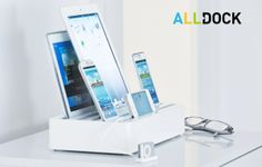 All Dock: Universeel oplaadstation voor al je smartphones en tablets - Yup, doe mij die maar! #Handig