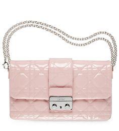 DIORISSIMO - Lilac leather 'Diorissimo' envelope pouch