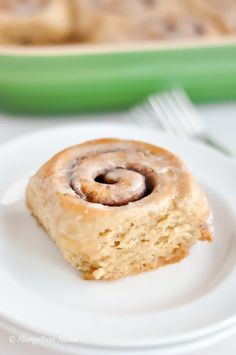 Yum! These look perfect for Christmas morning: Gluten-Free Dairy-Free Cinnamon Rolls Recipe | Allergy Free Alaska