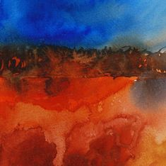 Ann Blockley Experiments with Winsor and Newton Jackson's Art Supplies