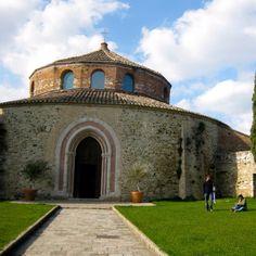 Perugia, Italy - round church.