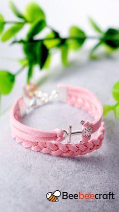 Diy Bracelets Patterns, Diy Friendship Bracelets Patterns, Diy Bracelets Easy, Handmade Bracelets, Handmade Wire Jewelry, Diy Crafts Jewelry, Bracelet Crafts, Diy Leather Bracelet, Diy Jewelry Inspiration