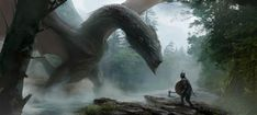 Fantasy Art Watch — Dragon's Breath by Grzegorz Rutkowski