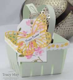 My Stampin' Up! Easter Egg Hunt Berry Basket Bigz™ L Die - Independent Demonstrator Tracy May
