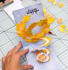 Arte Pop Up, Pop Up Art, Diy Postcard, Origami Cards, Tarjetas Pop Up, Diy And Crafts, Paper Crafts, Paper Pop, Diy Canvas Art