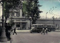 Rijeka - 1960. - Kolodvor i trolejbus