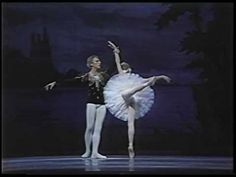 Natalia Makarova & Ivan Nagy (with Itzhak Perlman & Lynn Harrell) - Swan Lake......one of the most exquisite dancers ever....she is mesmerizing