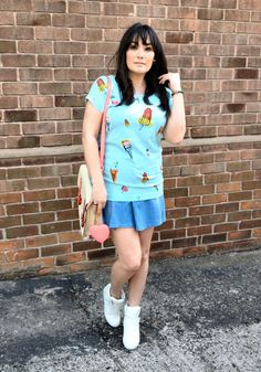 Brakeburn Ice Lolly Tee and Paul's Boutique Satchel!