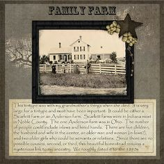 Musings of a Genealogy-Nut: Paired Scrapbook Pages