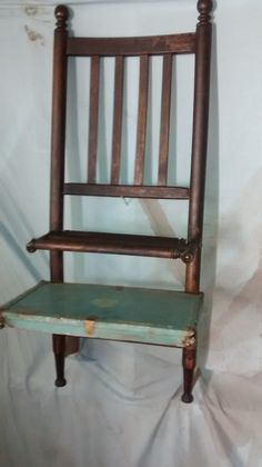 One Of A Kind Chair Shelf By MattsWoodEmporium On Etsy