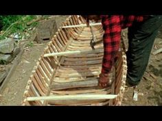 How to make a canoe from birch tree
