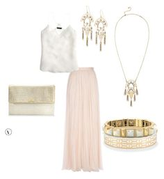"""""""Evening Out on Vacation"""" by meredith-josephine on Polyvore featuring Needle & Thread, J.Crew and Stella & Dot"""
