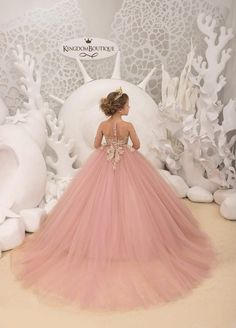 Items similar to Blush pink and Gold Flower Girl Dress - Birthday Wedding Party Holiday Bridesmaid Flower Girl Blush pink and Gold Tulle Lace Dress on Etsy Gold Tulle, Tulle Lace, Lace Dress, Purple Flower Girls, Blush Flower Girl Dresses, Gowns For Girls, Dresses Kids Girl, Blush Rosa, Blush Pink