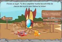 Aquamath french Website for math concepts