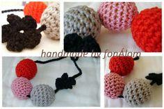 Szürkés-csajos Teething Necklace, Crochet Baby, Crochet Necklace, Necklaces, Jewelry, Products, Jewlery, Crochet Collar, Bijoux