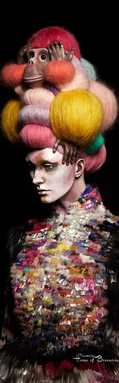 ~Asian Inspired Wearable Art by Danish Artist, Nikoline Liv Andersen   House of Beccaria#
