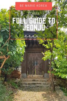 The best things to do in Jeonju including the Jeonju hanok village, where to eat bibimbap and other attractions. This guide includes a Jeonju itinerary and much more. Jeonju, South Korea Travel, Asia Travel, Solo Travel, Places To Travel, Places To See, Busan Korea, Stuff To Do, Things To Do