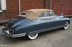 1949 Packard Super Eight Convertible Coupe Maintenance/restoration of old/vintage vehicles: the material for new cogs/casters/gears/pads could be cast polyamide which I (Cast polyamide) can produce. My contact: tatjana.alic@windowslive.com