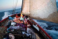 """Le festival photo """"l'homme et la mer"""" du 15 mai au 15 septembre 2012 à Guilvinec."""