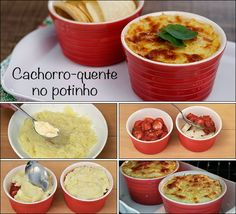 Cachorro-Quente no Potinho Hot Dog Recipes, Healthy Recipes, Diet Recipes, Comida Kosher, Chicken And Chips, Salad With Sweet Potato, International Recipes, Kids Meals, Love Food