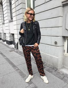 Cool Danish blogger Amalie Wessel wearing Nadia Pants from STORM & MARIE Fall 2016 collection