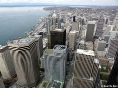 Downtown Seattle from the Columbia Tower Observation Deck