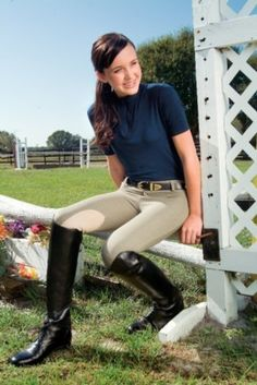 Devonaire Kids X-Wear Hipster Riding Tight is an excellent product we know our customers will love. stretch brushed cotton & lycra blend fabric is specifically Equestrian Girls, Equestrian Boots, Equestrian Outfits, Equestrian Style, Riding Breeches, Riding Boots, Devon, Riding Habit, Hipster