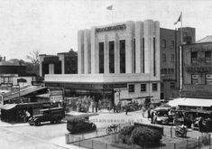 Lewisham – Store 20   Woolies Buildings - Then and Now Vintage London, Old London, East London, London City, Ancient Greek Architecture, Gothic Architecture, London History, Local History, Building Costs