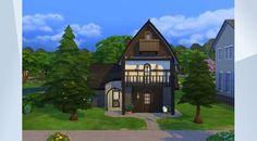 ¡Mira este solar en la galería de Los Sims 4! - #cottage #cabaña #forest #casa #campo #bosque #house #woods #simsguru.com