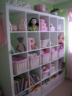 Girly room organization...made a smaller version of this :)