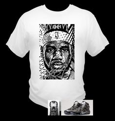 f6a8db53755e Lebron James 12 BHM T-Shirt Black History Month Theme Made to Match Shoes  oz