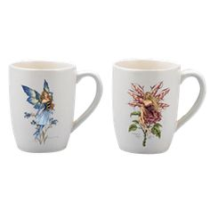 Amy Brown Fairy Coffee Mug Set - CG8438 by Medieval Collectibles