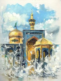 Islamic Images, Islamic Pictures, Karbala Pictures, Imam Reza, Imam Hussain Wallpapers, Karbala Photography, Islamic Posters, Islamic Art Pattern, Islamic Paintings