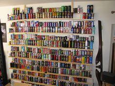 WOA serious energy drink collection bro!