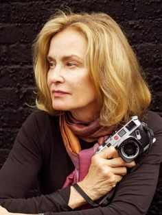Jessica Lange- Photographer behind Girls With Cameras, Classic Camera, Celebrity Photographers, Cheryl Ladd, Ageless Beauty, Glamour, People Photography, Best Actress, Madame