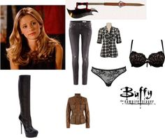 """Buffy Summers"" by singlemom on Polyvore"