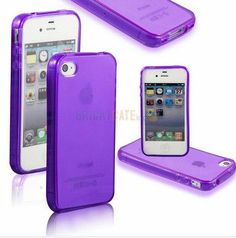 Ultra thin Colorful Transparent CLEAR JELLY TPU Gel Soft Silicone Case Cover Protector For iPhone 4 4S 5 5S 5G SE 6 6s 6 Plus